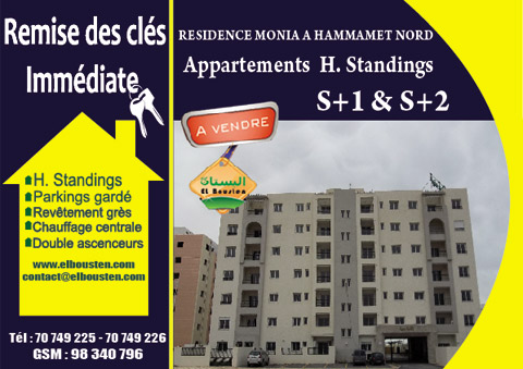 Projet immobilier Monia